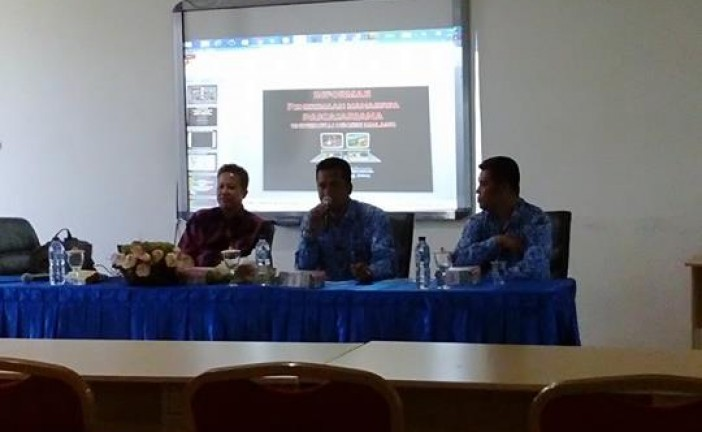 SOSIALISASI PENERIMAAN MAHASISWA S2 PENDIDIKAN OLAHRAGA FKIP UNTAD BEKERJASAMA DENGAN UN MALANG